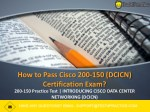 How to Prepare for 200-150 Practice Test Exam in One Day