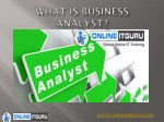 Business Analyst Online Course   Business Analyst Online Course Hyderabad