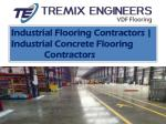 Industrial Flooring Contractors In Hyderabad