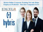 Hybris Online Corporate Training Not only Helps Employees Proficient – But Also Companies Grow
