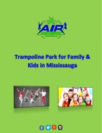 Air Riderz Trampoline Park - One Stop Recreational Indoor Park in Mississauga