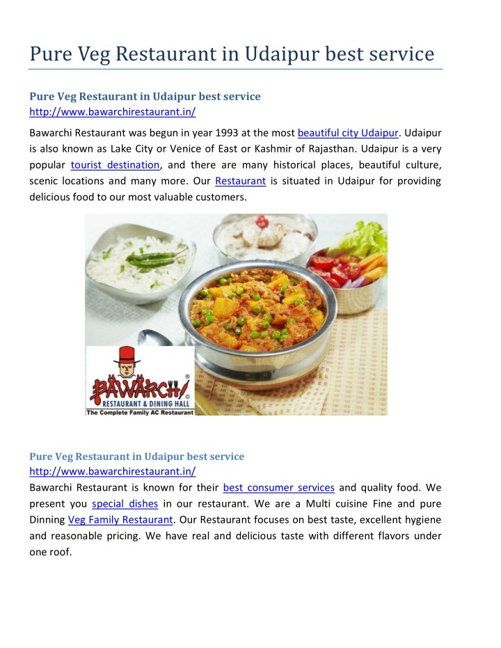 pure veg restaurant in udaipur best service n.