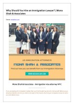 Why Should You Hire an Immigration Lawyer?