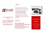 Accutel Total Solution – One Stop IT Service Provider