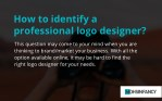How to identify a professional logo designer?
