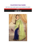 Collections of half sarees