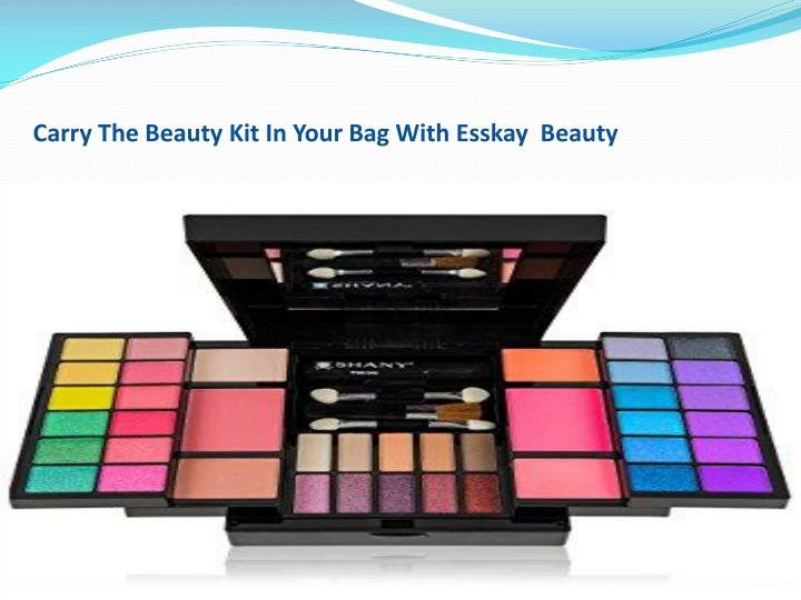 carry the beauty kit in your bag with esskay n.