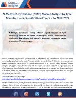 N-Methyl-2-pyrrolidone (NMP) Market Analysis by Type, Manufacturers, Specification Forecast to 2017-2022