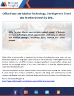Office Furniture Market Technology, Development Trend and Market Growth by 2021