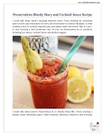 Bloody Mary Cocktail Recipe - Drunken Tomato