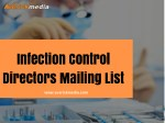 Infection Control Directors Mailing List