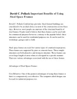 David C. Pollack Steel Garage Buildings - Pros and Cons