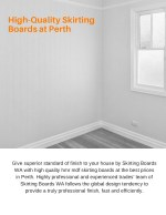 High-Quality Skirting Boards at Perth