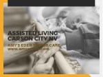 Assisted Living Carson City NV | Amy's Eden Senior Care
