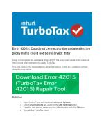 Turbotax Error Support Number 1855-924-9508 | Intuit Turbotax Support