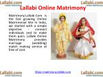 Online Free Hindu Muslim Christian NRI Matrimony (Matrimonial) Services (Website) in India