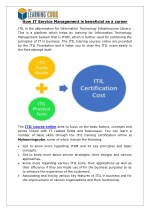 ITIL Training Certification Online [MyLearningCube]