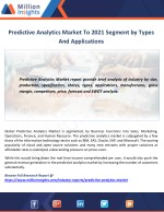 Predictive Analytics Market Manufacturing Base and Competitors Forecast 2021