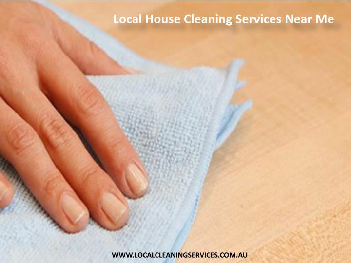 local house cleaning services near me n.