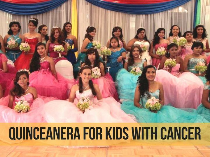 quinceanera for kids with cancer n.