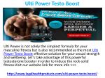 Ulti Power Testo Boost Reviews, Cost, Price and Free Trial
