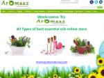 Certified Essential oils @ Aromaaz International