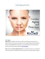 Best Anti Aging Treatment
