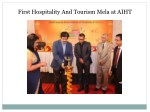 First Hospitality And Tourism Mela at AIHT