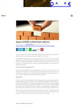 Impact of RERA on Real Estate Industry