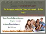 ASHFORD COM 340 Course Seek Your Dream/tutorilarank.com