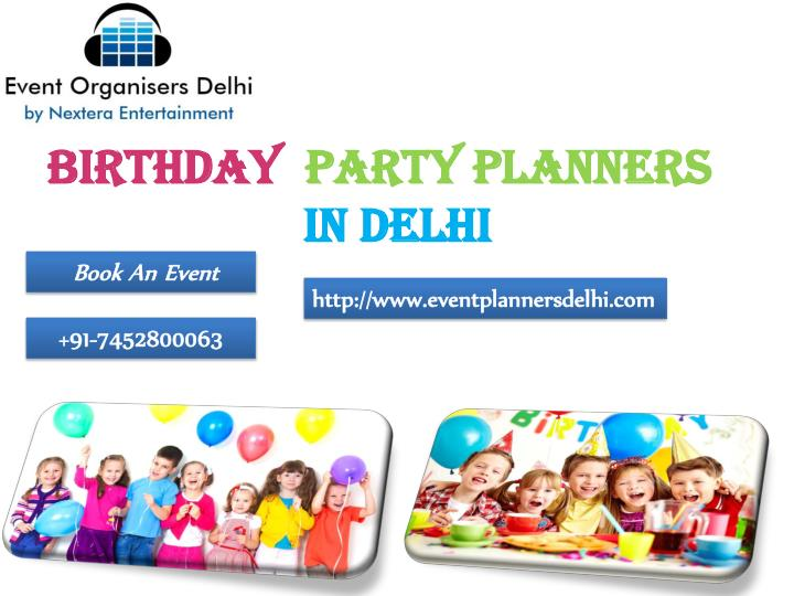 birthday party planners in delhi n.