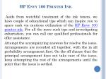 How to install HP Envy 5540 printer?