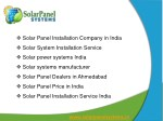 Solar Panel Systems, Solar Panel, Manufacturer, Exporter, Supplier, India