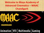 Animation Training Institute in Chandigarh