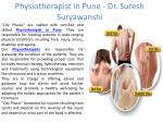 Physiotherapist in Pune