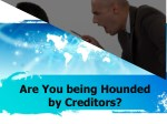 Are You being Hounded by Creditors? Call to Justin Myers Attorney