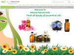 All Types of best essential oils @ Natures Natural India