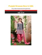 Punjabi Dresses Now In USA
