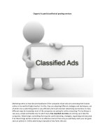 Best Classified site in India for posting ads
