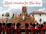 Thailand's royal cremation ceremony caps year of mourning