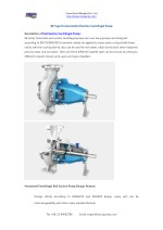 GE Type Horizontal End Suction Centrifugal Pump