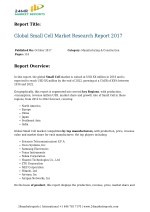 Global Small Cell Market Research Report 2017