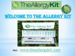 Allergy to cats treatment