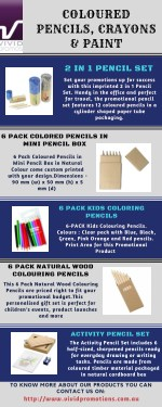 Promotional Pencils by Vivid Promotions