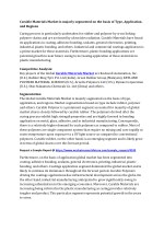 Curable Materials Market 2017: Research, Share, Competitor Strategy, Industry Trends and Forecast to 2023