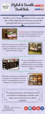 Bunk Bed - Wooden Bunk Bed at Affordable Prices