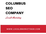Columbus SEO Company and SEO Consultant - Local9 Marketing