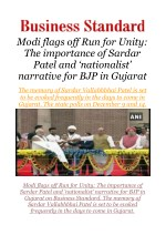 Modi flags off Run for Unity: The importance of Sardar Patel and 'nationalist' narrative for BJP in Gujarat