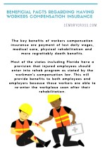 Beneficial Facts Regarding Having Workers Compensation Insurance