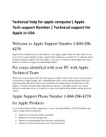Tollfree phone number for apple get apple support